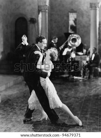 DANCE TEAM - stock photo