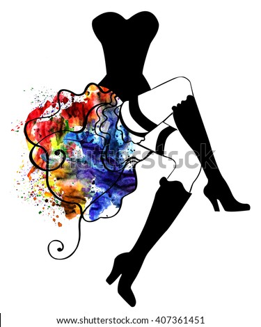 can can dancer stock photos images amp pictures shutterstock