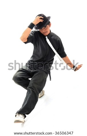 dancer hip hop - stock photo