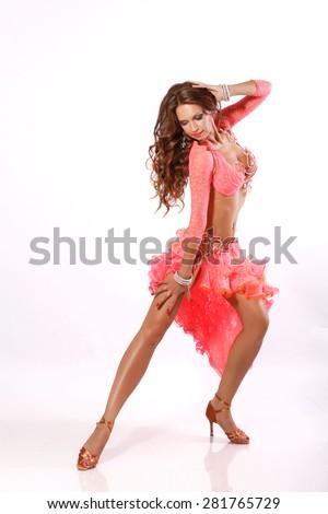 Sexy latino girls dancing
