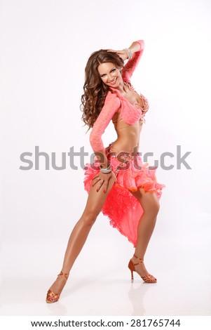 Sexy girl dancer