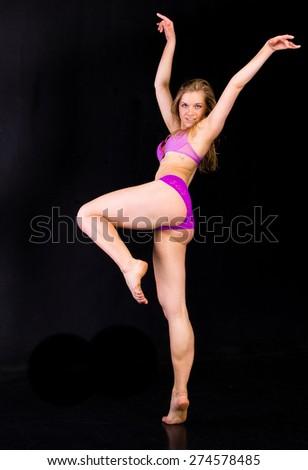 Dancing Ballet Artist  - stock photo