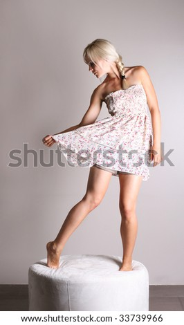 Dancing Dress - stock photo