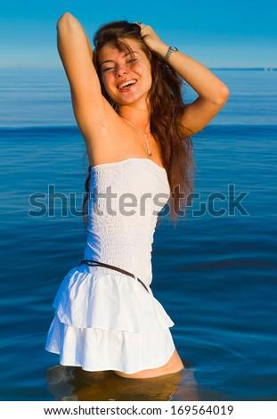 Dancing Dress Relaxing  - stock photo