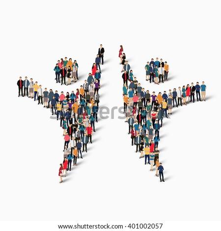 Dancing Man Symbol People Stock Illustration 401002057 Shutterstock