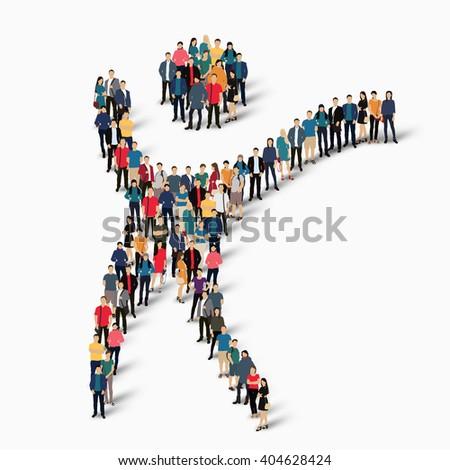 Dancing Man Symbol People Stock Illustration 404628424 Shutterstock