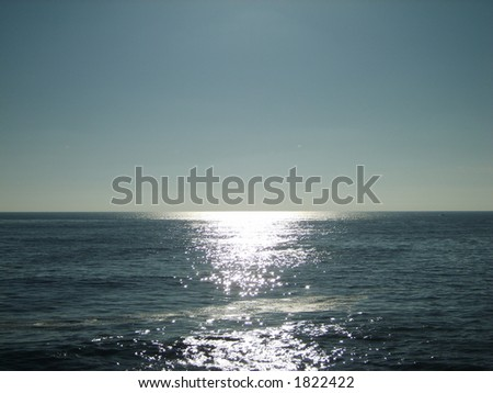 Dancing sunlight - stock photo