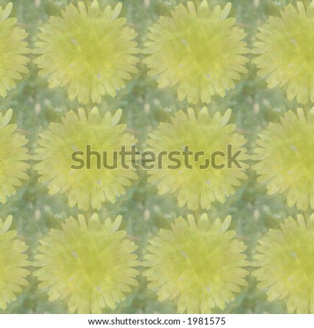 Dandelions Tiled On Square Create Background Stock Photo Royalty - Create tiled image