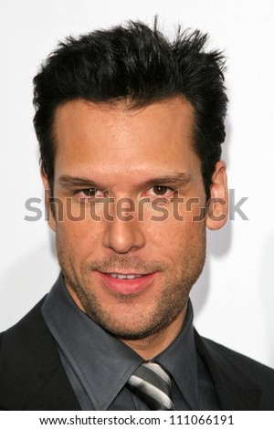 """Dane Cook at the Los Angeles Premiere of """"Good Luck Chuck"""". Mann National Theater, Westwood, CA. 09-19-07 - stock photo"""