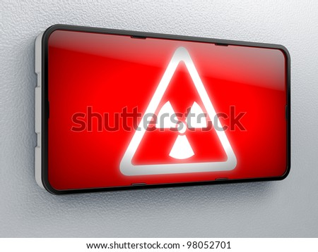 Danger Full collection of icons like that is in my portfolio - stock photo