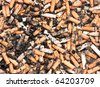 danger of cigarettes background - stock photo