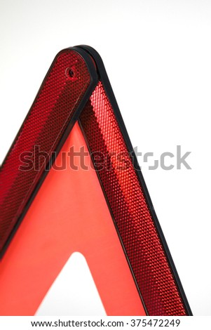 Danger Safety Warning Triangle Sign - stock photo
