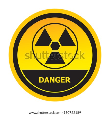 Danger sign.-jpg format - stock photo