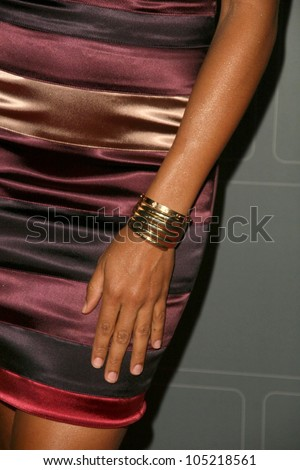 Dania Ramirez Jewelry  at the T-Mobile Sidekick LX Launch Party. Paramount Studios, Hollywood, CA. 05-14-09