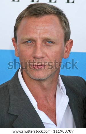 Daniel Craig at the 2007 Film Independent's Spirit Awards. Santa Monica Pier, Santa Monica, CA. 02-24-07 - stock photo