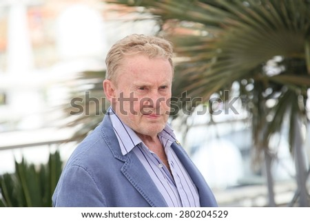 Daniel Olbrychski attends the Jury De La Cinefondation Photocall during the 68th annual Cannes Film Festival on May 21, 2015 in Cannes, France. - stock photo