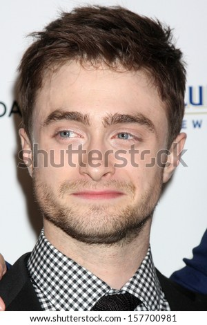 "Daniel Radcliffe at the ""Kill Your Darlings"" Premiere, Writers Guild Theater, Beverly Hills, CA 10-03-13"