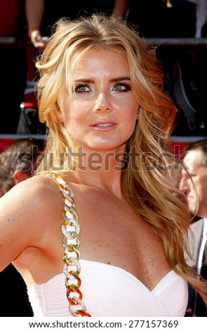 Daniela Hantuchova at the 2012 ESPY Awards held at the Nokia Theatre L.A. Live in Los Angeles on July 11, 2012.  - stock photo