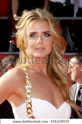 Daniela Hantuchova at the 2012 ESPY Awards held at the Nokia Theatre L.A. Live in Los Angeles, USA on July 11, 2012. - stock photo