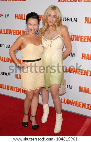 Danielle Harris and Jennifer Blanc-Biehn at the Los Angeles Premiere of 'Halloween II'. Grauman's Chinese Theatre, Hollywood, CA. 08-24-09