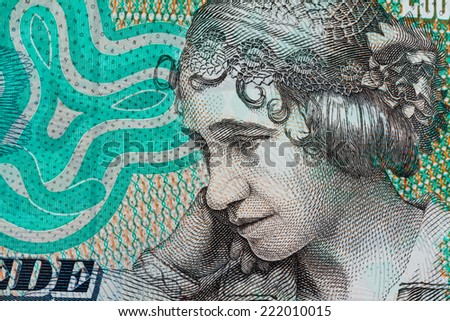 danish crowns. currency from denmark in europe. - stock photo
