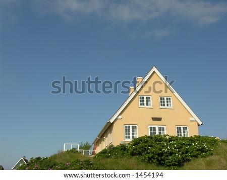 Danish Summer House - stock photo