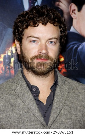 Danny Masterson at the Los Angeles premiere of 'Gangster Squad' held at the Grauman's Chinese Theatre in Hollywood on January 7, 2013.   - stock photo