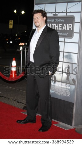 """Danny McBride at the Los Angeles Premiere of """"Up In The Air"""" held at the Mann Village Theater in Westwood, California, United States on November 30, 2009.   - stock photo"""