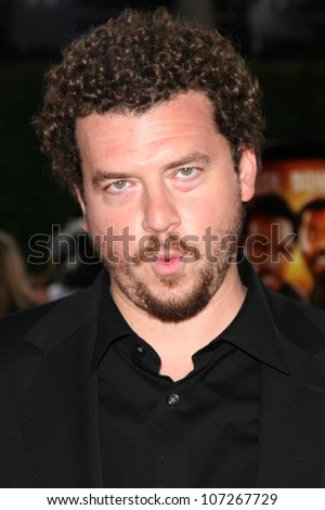 Danny R. McBride  at the Los Angeles Premiere of 'Tropic Thunder'. Mann's Village Theater, Westwood, CA. 08-11-08 - stock photo