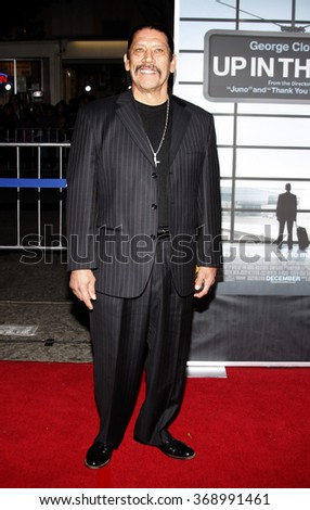 """Danny Trejo at the Los Angeles Premiere of """"Up In The Air"""" held at the Mann Village Theater in Westwood, California, United States on November 30, 2009. - stock photo"""