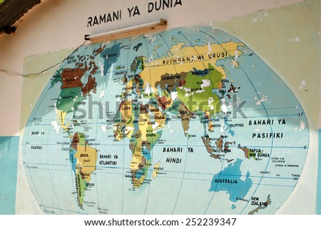 Dar Es Salaam Tanzania February 21 Stock Photo 252239347 Shutterstock