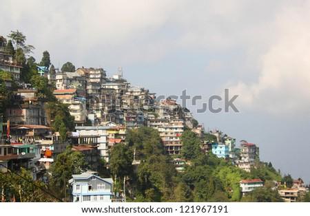 Darjeeling, India - stock photo