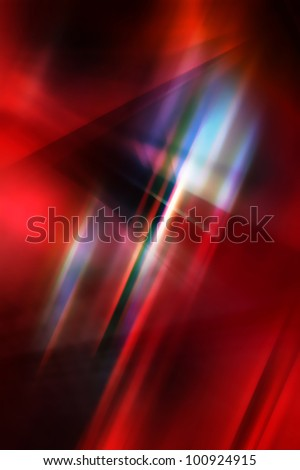 Dark abstract background in red and blue tones. - stock photo