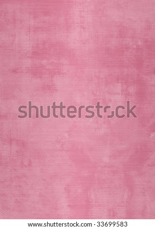 Dark and light pink painted or plaster wall, damaged, grunge, dirty - stock photo