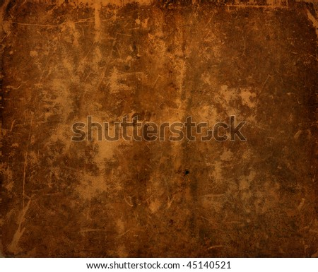 Dark Antique Old Leather Background. Great texture details - stock photo