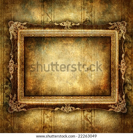 dark art - stock photo