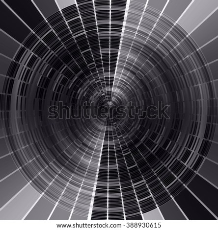 dark black Circle wave illustration of technology internet network computer background with binary number, style. infographics. Information. motion blur. pixel. Binary digit. number. web wabsite tech