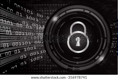 dark black eye Light Abstract Technology background for computer graphic website internet and business. circuit. illustration. digital. infographics. binary code. scan virus ey - stock photo