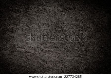 Dark black texture can be used for background - stock photo