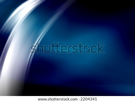 dark blue abstract composition - stock photo