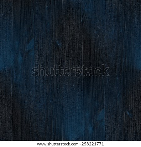 dark blue background, wood grain texture, seamless pattern - stock photo