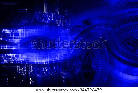 dark blue color Light Abstract Technology background for computer graphic website internet and business.circuit. illustration. infographics. motion move blur.neon.pixel. vivid Bright. eye