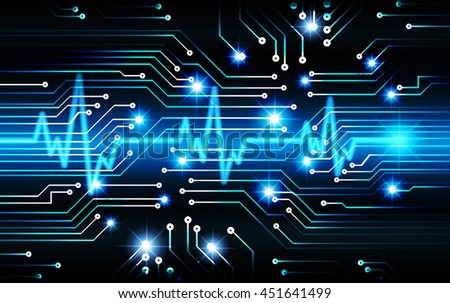 dark blue cyber Light Abstract Technology background for computer graphic website internet business.circuit.illustration. digital. infographics.binary code. www. motion move. electrocardiogram, EKG