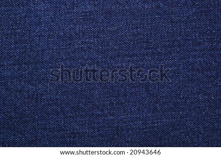 Dark blue denim, background - stock photo