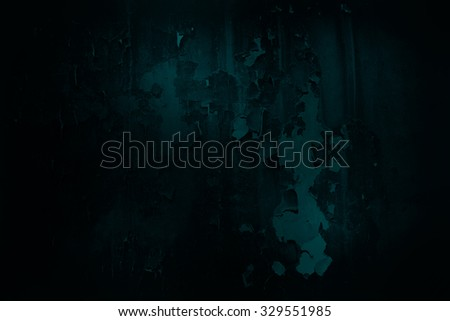 dark blue grunge rusty metal wall background or texture
