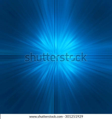 dark blue Light Abstract background. ray beam aura laser. zoom motion move blur