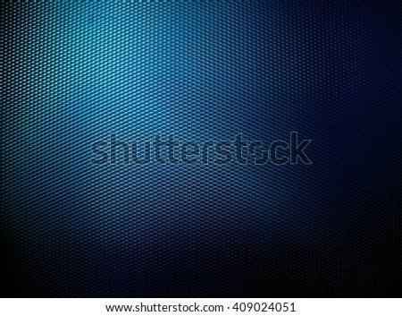 dark blue metal mesh background - stock photo