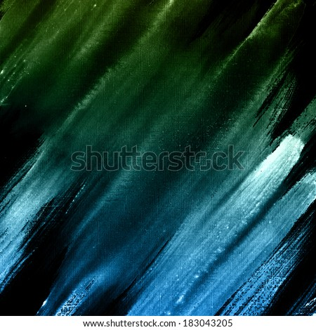 Dark blue striped background. Abstract aquarelle texture backdrop. Handmade technique.  - stock photo