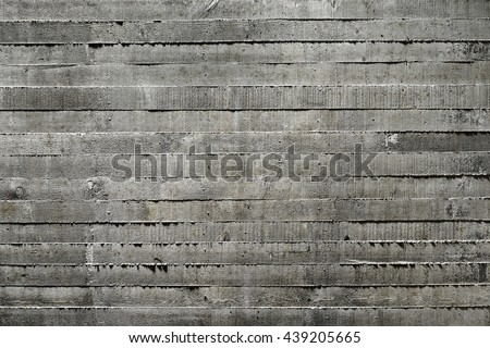 Dark Board Formed Concrete Texture
