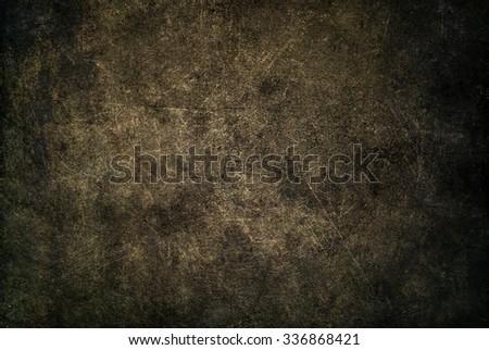 Dark brown background. Horror background - stock photo